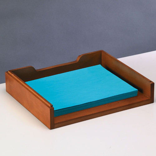Axcess Woodworx Stacking Letter Tray