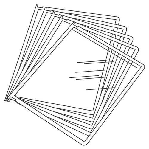 10-Pocket Add-On for WoodWorks Organizer - Black