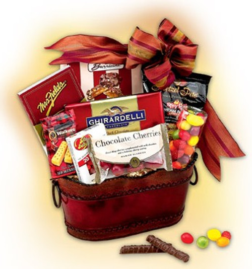 Red Delicious Gift Basket