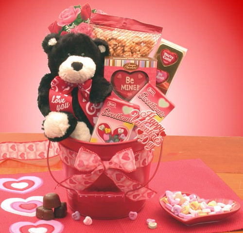 Be Mine Valentines Day Gift Pail