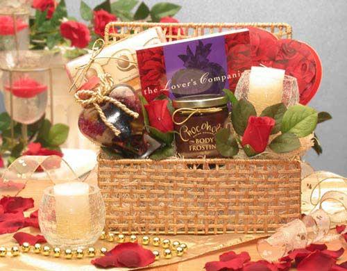 Romantic Evening Gift Basket - Medium