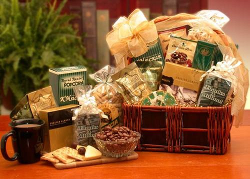 A Lasting Impression Thank You Gift Basket - Large