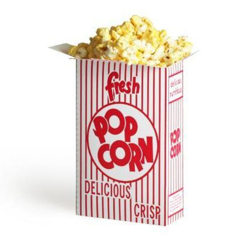 (50) .75 Ounce Movie Theater Popcorn Boxes