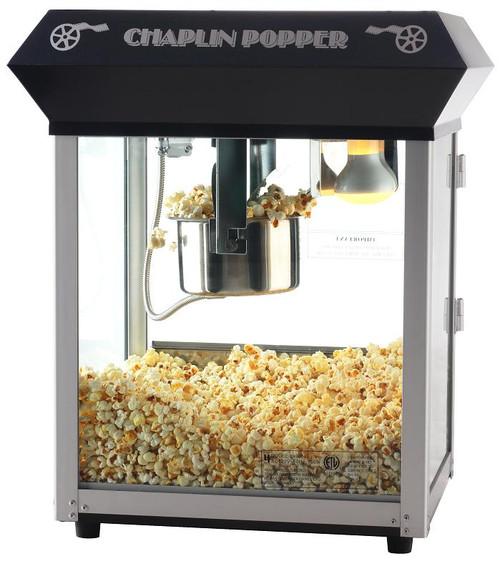 Black Chaplin Four Ounce Bar Style Popcorn Machine