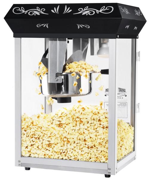 Black Eight Ounce Foundation Popcorn Machine Top