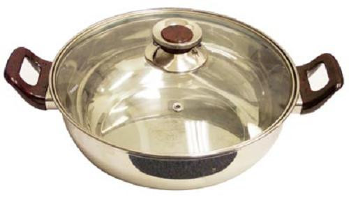 Induction ready  stock pot w/cover