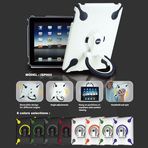 SpinStand for iPad  (White/Gray)