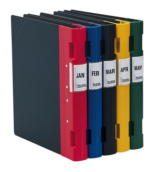 "Keba Ergo 1 1/2"" 3-Ring Black Binder"