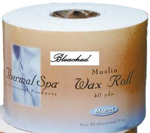 Bleached Muslin Hard Roll 3.5x40 Yds
