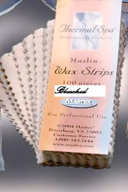 Bleached Muslin Strips 1x3,100 Pk