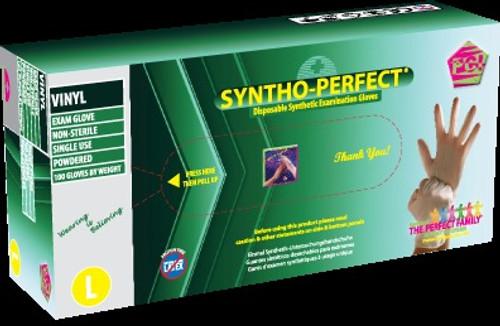 Syntho-Perfect, Gloves Lightly Powdered Medium 100/bx