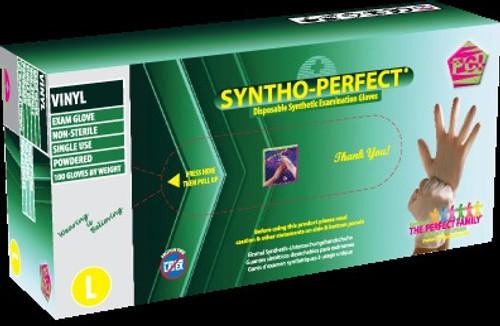 Syntho-Perfect, Gloves Lightly Powdered, Petite 100/bx