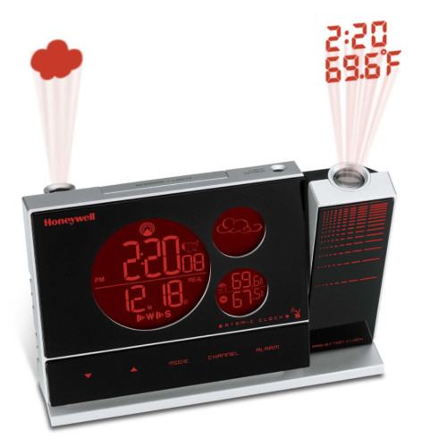 Honeywell PCR426W Weather Forecaster with Dual Projection