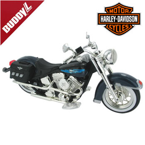 Harley Davidson Heritage Softail Model With Sound