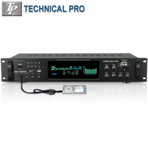 1500W Hybrid Amplifier W/ Am/Fm Tuner