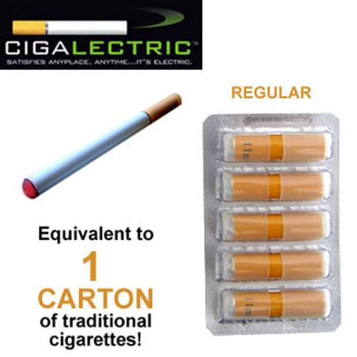 Electronic Cigarette Replacement Cartridges (Regular)