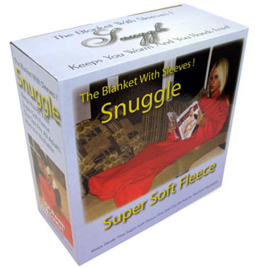 Snuggle - The Blanket With Sleeves