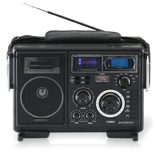Portable Battery Powered Stereo