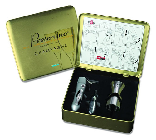 Preservino Champagne Wine Preservation System