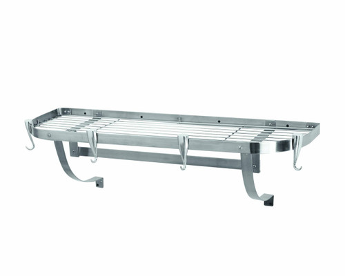 Professional Large Wall-Mount Rack - Stainless Steel