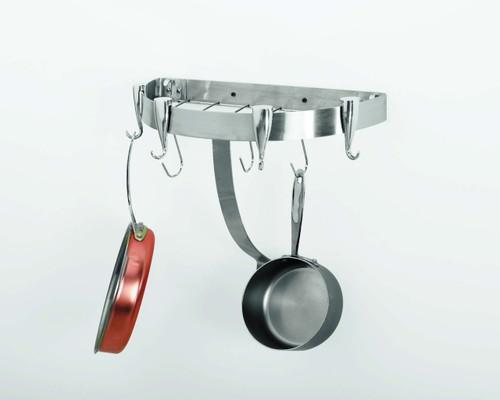 Professional Half Round Rack - Stainless Steel