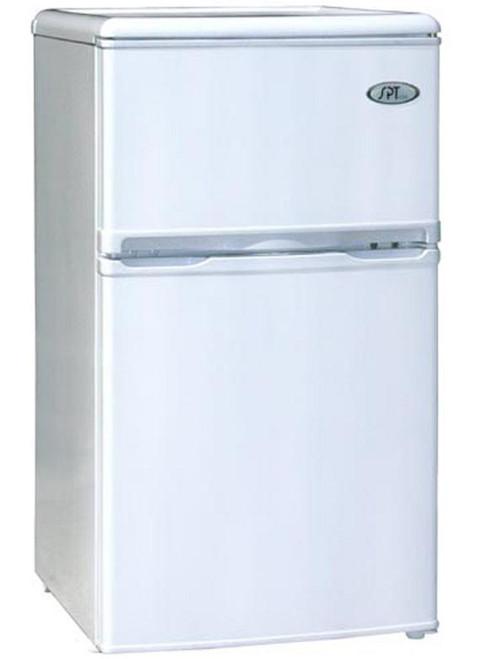 3.2 cu.ft. Double Door Refrigerator - White