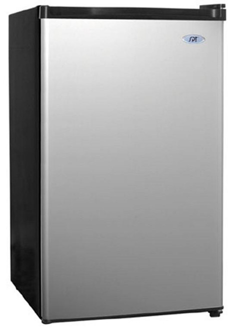 4.4 cu.ft. Compact Refrigerator - Stainless Steel