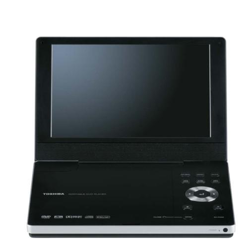 """Toshiba SD-P1900 9"""" TFT Portable Widescreen DVD Player"""