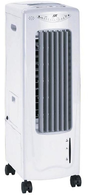 Evaporative Air Cooler with Ionizer and Cold Press