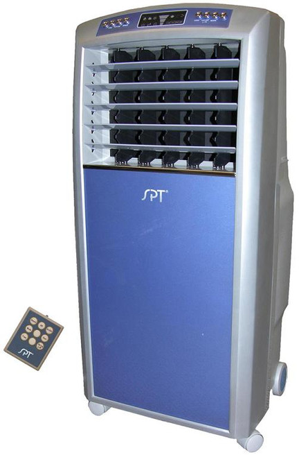 Evaporative Air Cooler with Ionizer and Digital Control/LCD