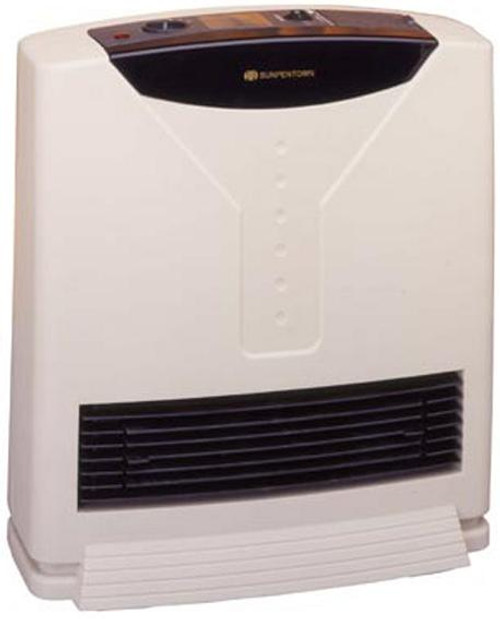 Ceramic Upright Fan Heater with Humidifier.