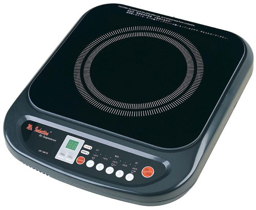 1200W Countertop Induction Cooktop - Black