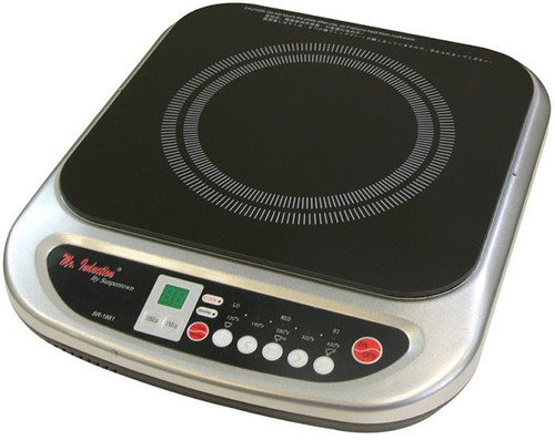 1200W Countertop Induction Cooktop - Silver