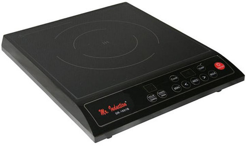 1300W Countertop Induction Cooktop - Black