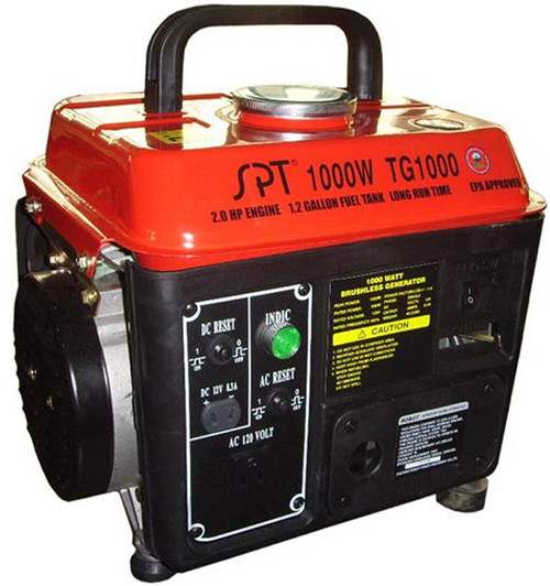 1000W 2.0HP Gasoline Generator