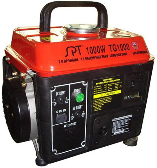1000W 2.0HP Gasoline Generator with CARB