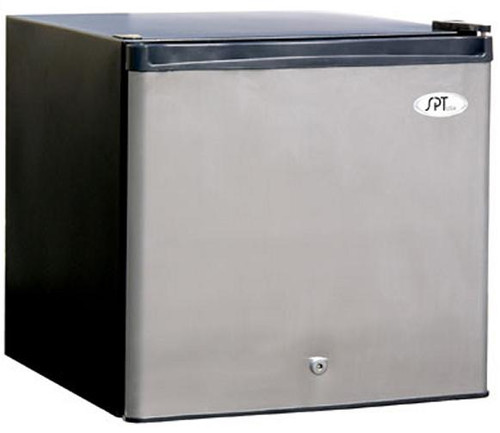 1.6 cu.ft. Upright Freezer - Stainless Steel