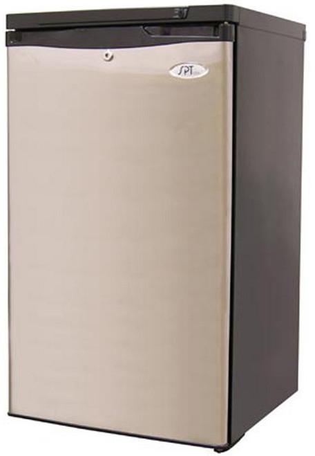 3.0 cu.ft. Upright Freezer - Stainless Steel