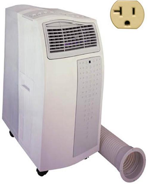 Portable Air Conditioner Heater 14,000-BTU w/Remote, Ionizer, UV light