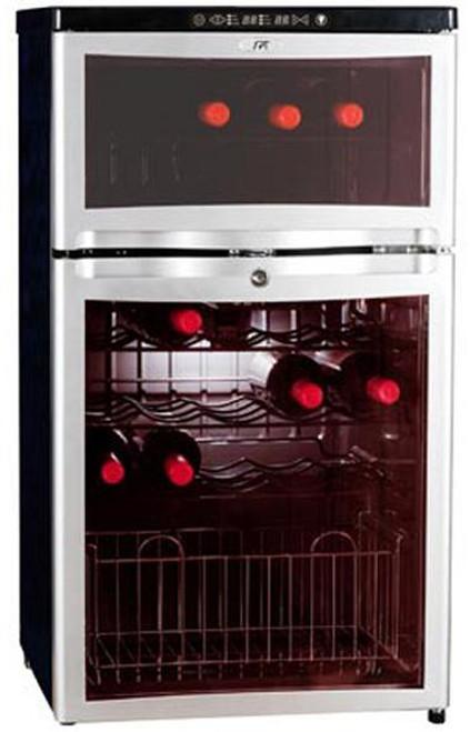 28-Bottle Dual-Zone Wine & Beverage Cooler (compressor)