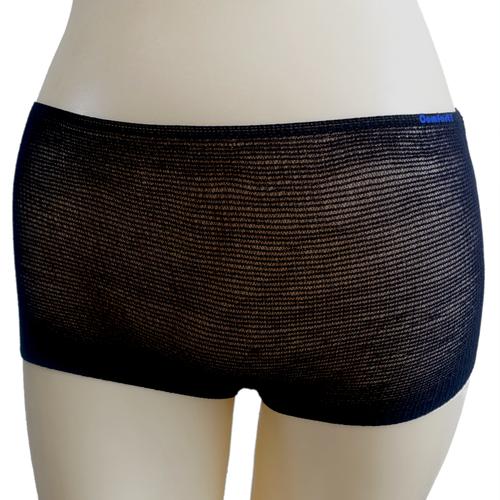 Disposable Black Mesh Briefs Underwear Regular/Large 50-Pack