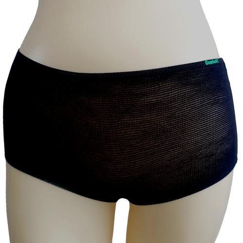 Disposable Black Mesh Briefs Underwear Extra Large 50-Pack