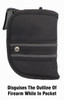 Woven Poly Pocket Holster Fits Sig Sauer P938 9mm with or with o Laser (W2)