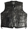 "Garrison Grip CCW Genuine BUFFALO  Leather Ambidextrous Concealed Carry Vest (X-Large 48.5"")"