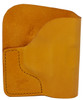 Tan Italian Leather Pocket Holster for Taurus P738 and Similar Guns