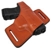 Garrison Grip Tan Italian Leather Tactical Holster For All Large Frame GLOCK Models