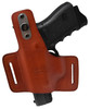 Garrison Grip Tan Italian Leather Tactical Holster For GLOCK 26 27 33 39