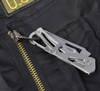Ultra Cool 11 in 1 Multi-Tool Card and Carabiner Knife Combo by Garrison Grip