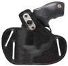 For Taurus Small Frame 38 Special and 9mm Revolvers, Garrison Grip Premium Full Grain Black Italian Leather 2 Position Tactical Holster