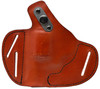 For Charter Arms 38 Special Undercover and Southpaw Revolvers, Garrison Grip Premium Full Grain Tan Italian Leather 2 Position Tactical Holster